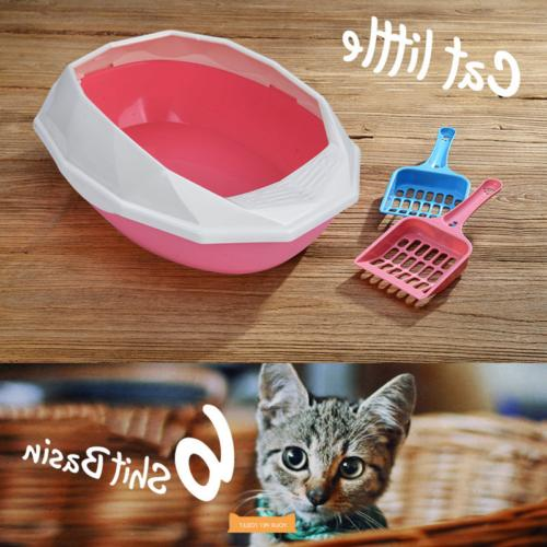 Kitty Cat Litter Removable Clean Accessible
