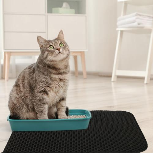 Kitty Cat Mat Trapping Design Waterproof