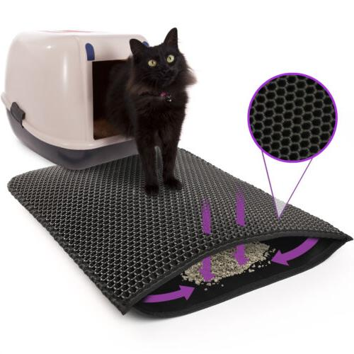 Kitty Litter Trapping Double Design Waterproof 24x15''