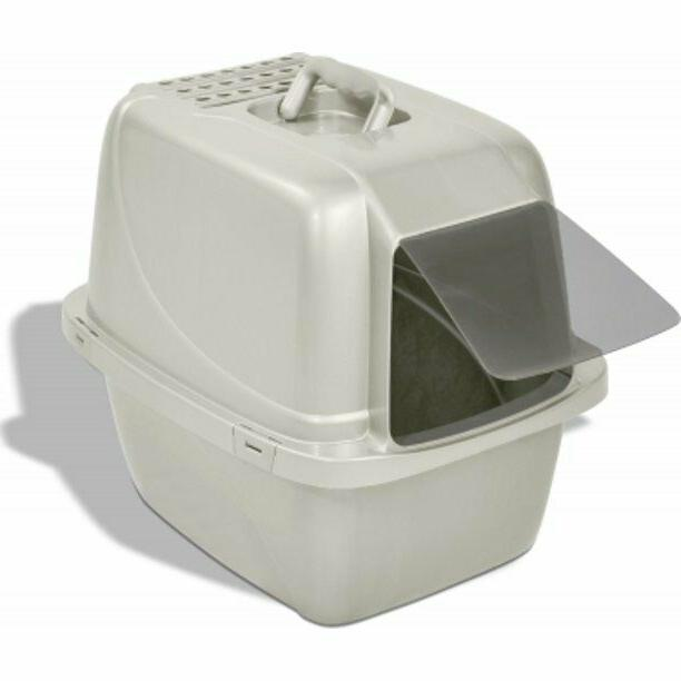 Van Ness Large Cat Litter Box Pan Enclosed Hooded Covered Ki