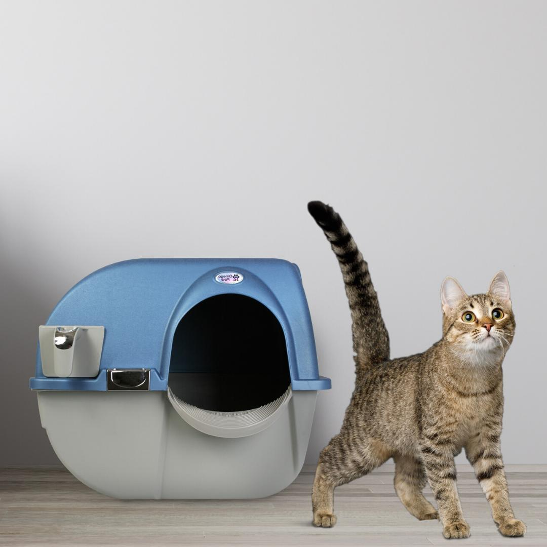 LITTER CAT CLEANING Automatic Pets Pan Large