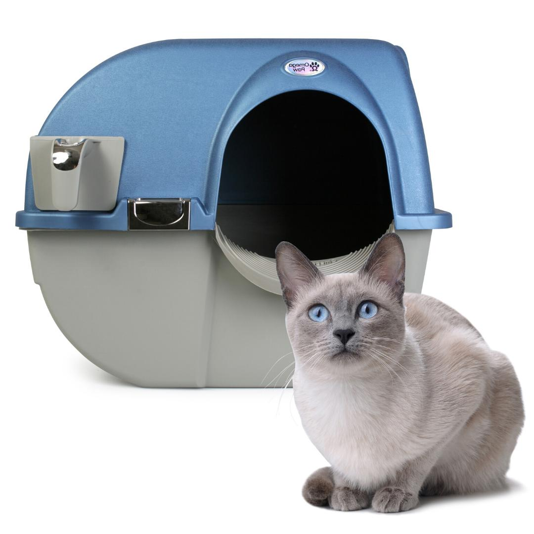 LITTER BOX CAT SELF CLEANING Pets Pan Large