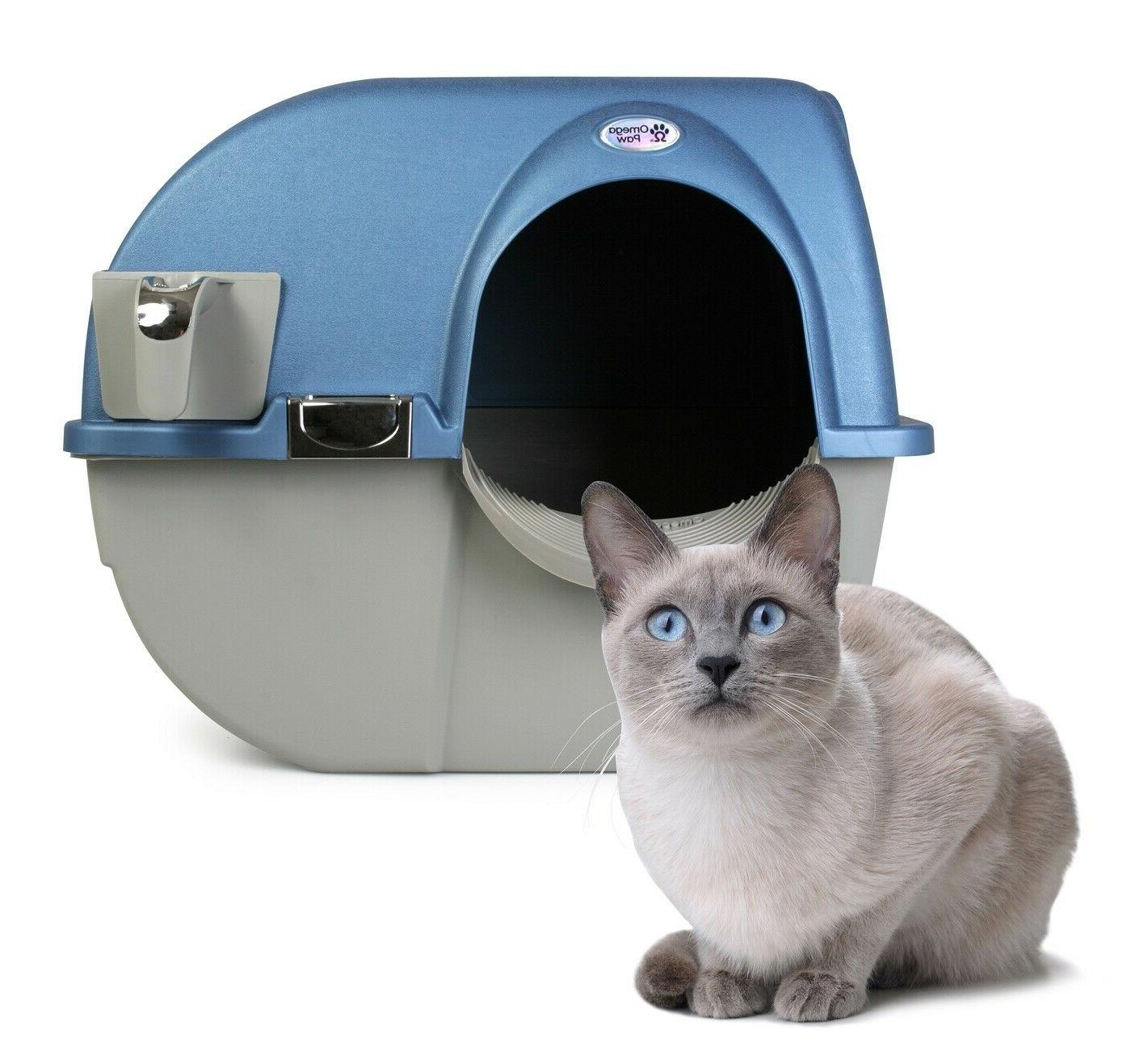 litter box cat self cleaning automatic scooper