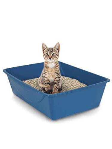 Petmate Open Box, Blue 4 Sizes
