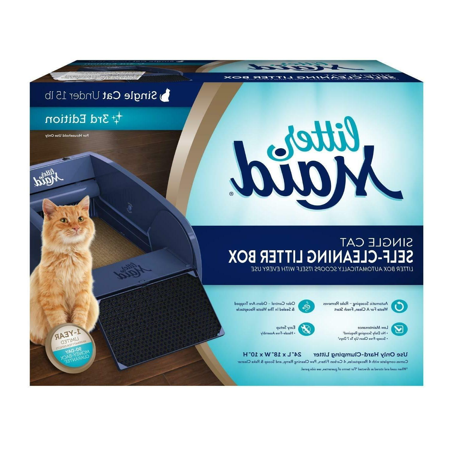 automatic self cleaning classic cat litter box