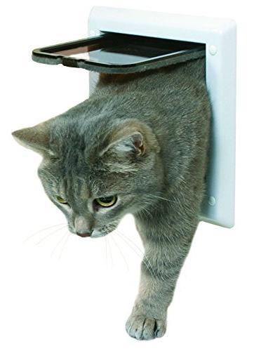 locking cat door