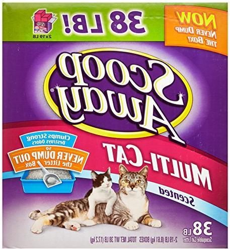 multi cat scented litter