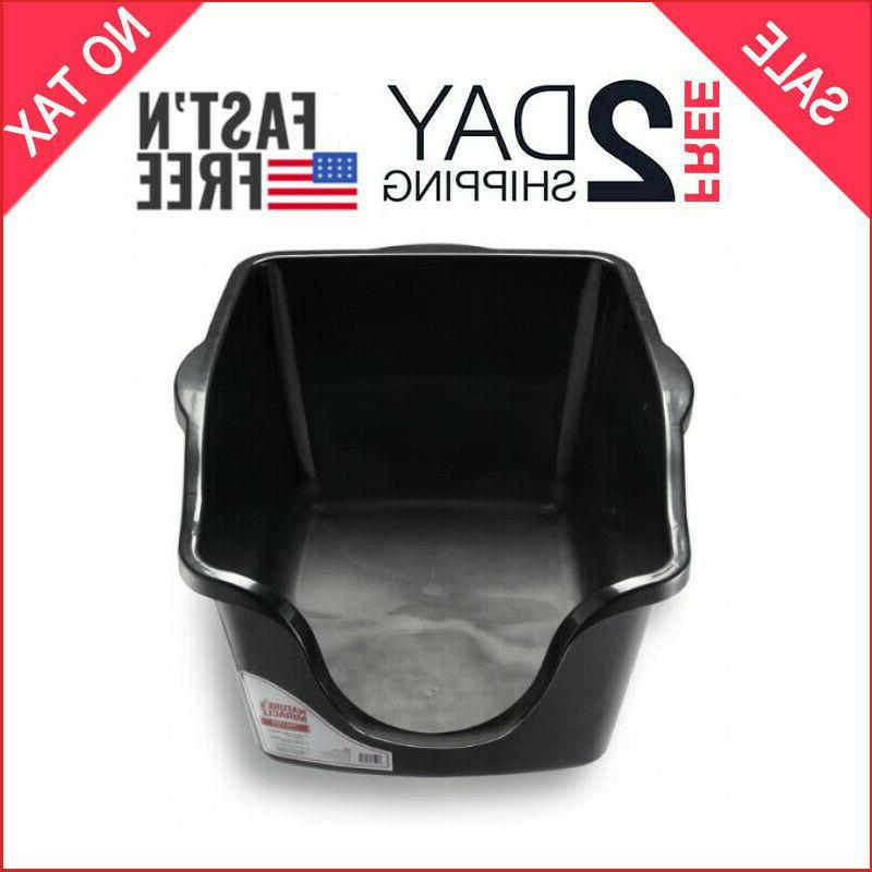 nature s miracle high sided litter box