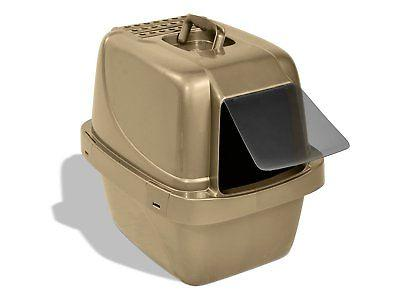 new cp66 enclosed sifting cat pan litter