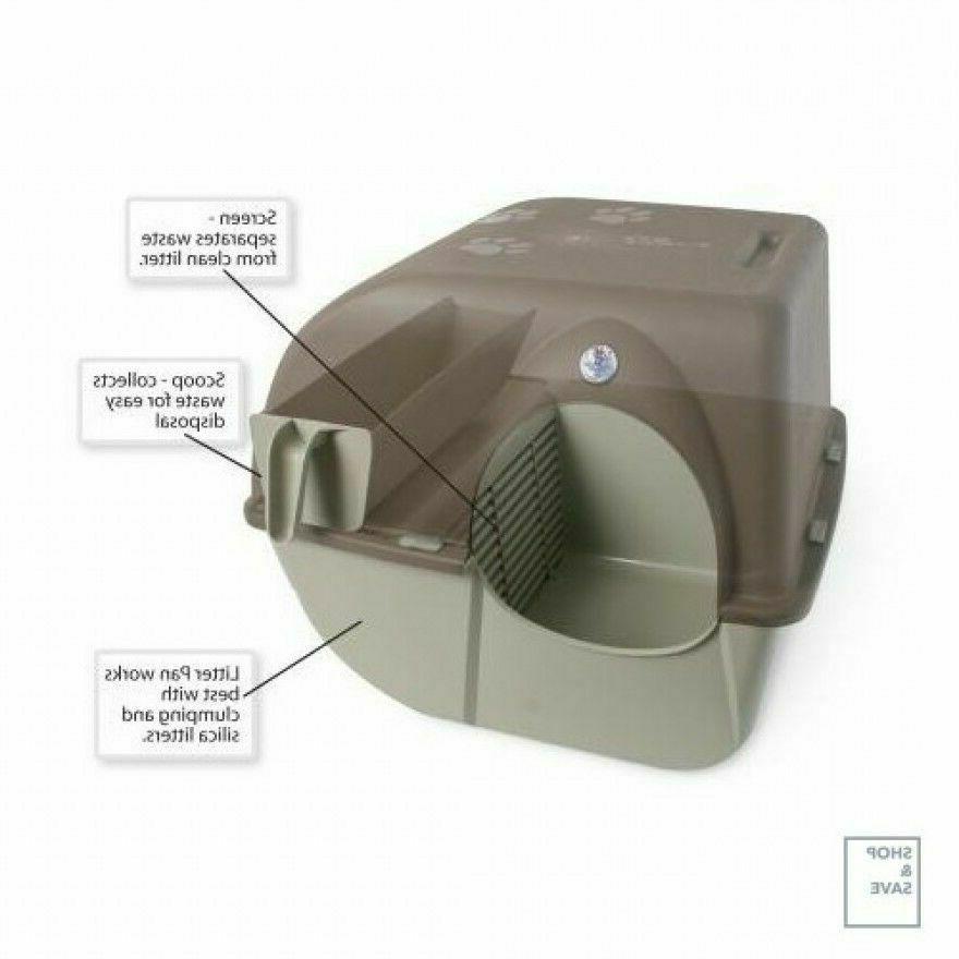 Omega 'n Clean Self Litter Box for
