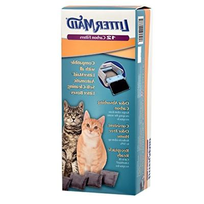 odor absorbing litter box carbon filters 12