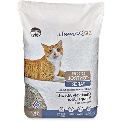odor control paper cat litter