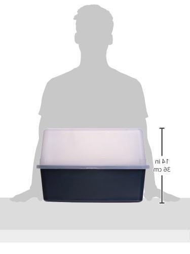 IRIS Litter Box Shield and Scoop,