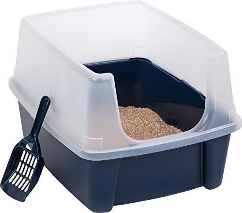 IRIS Litter Shield Scoop, Blue
