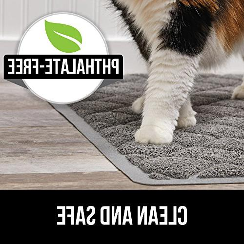 Gorilla Durable Multiple Mat Jumbo, No Resistant, Traps and Mats Soft on Kitty Paws