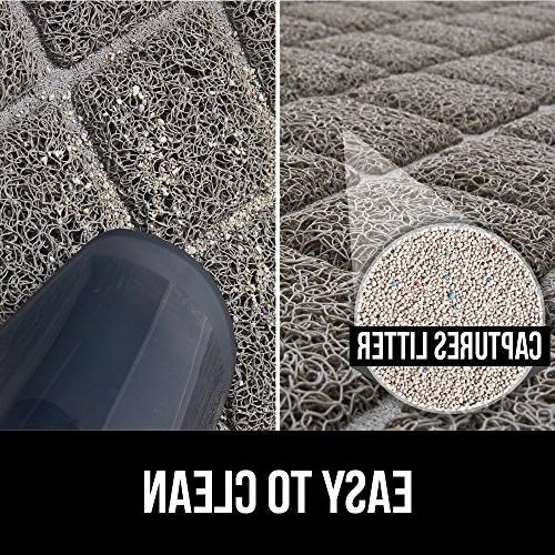 Gorilla Durable Mat No Phthalate, Traps Litter Mats Soft Paws