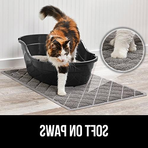 Gorilla Grip Original No Water Traps from Box and Cats, Mats Soft Paws