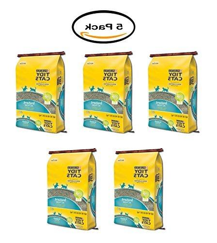 pack of 5 tidy cats non clumping
