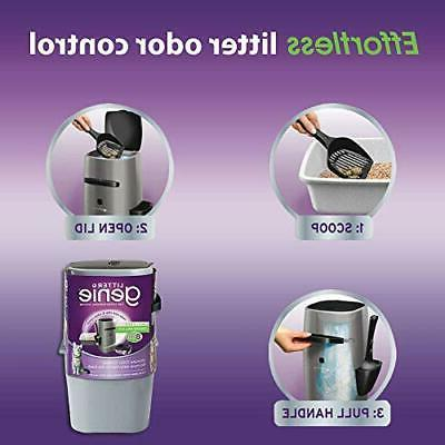 Pail, Cat Disposal Odors, Includes