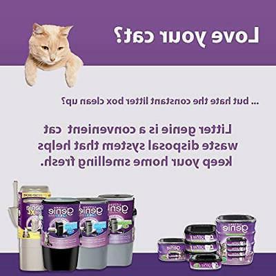Pail, Ultimate Cat Disposal Locks Away Odors,