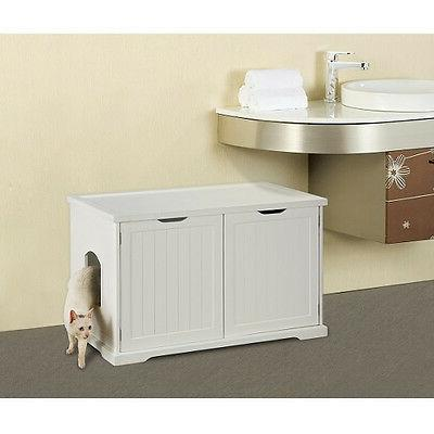 pet cat washroom litter cover