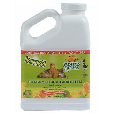 pet litter odor eliminator