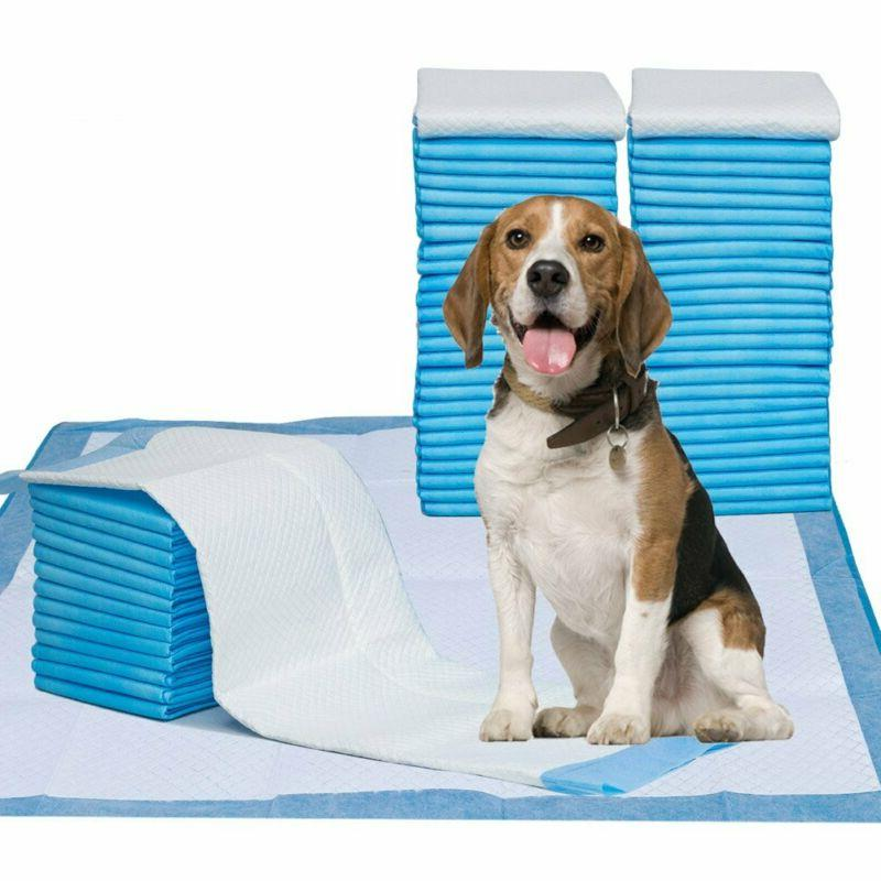 "Pet Training Puppy Pads, 34"" X 28"" Xxl-Large, Ultra Absorben"