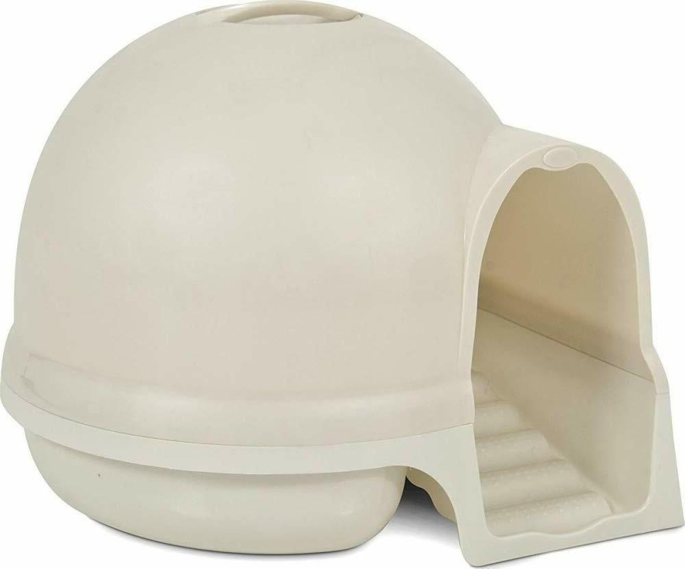 Petmate Clean Step Litter Dome,21 by 21 Inches, Absorbs Odor