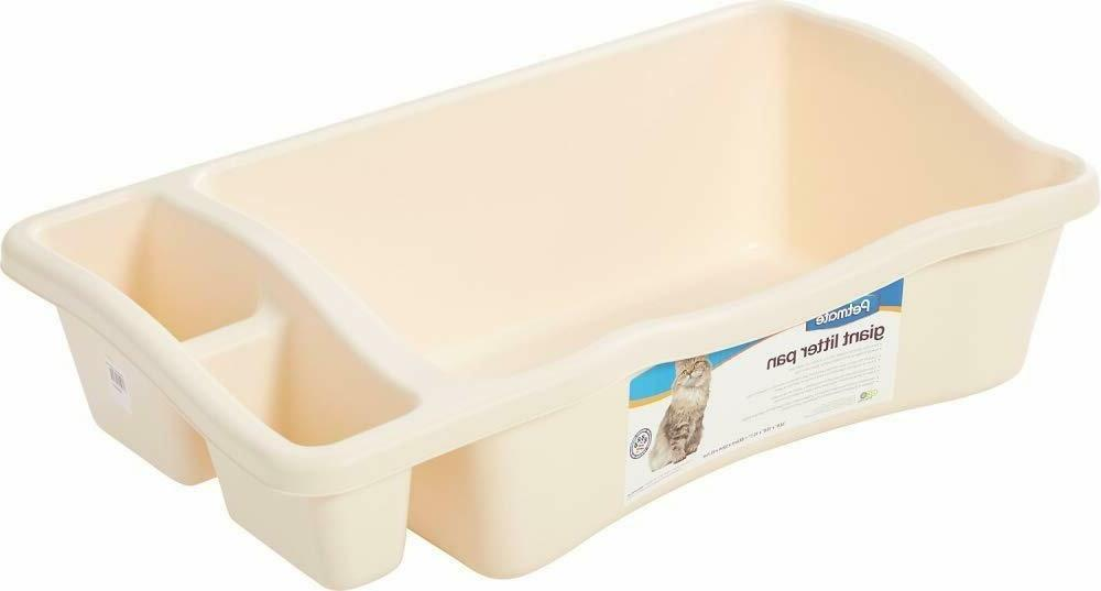 petmate giant litter pan for cat eco
