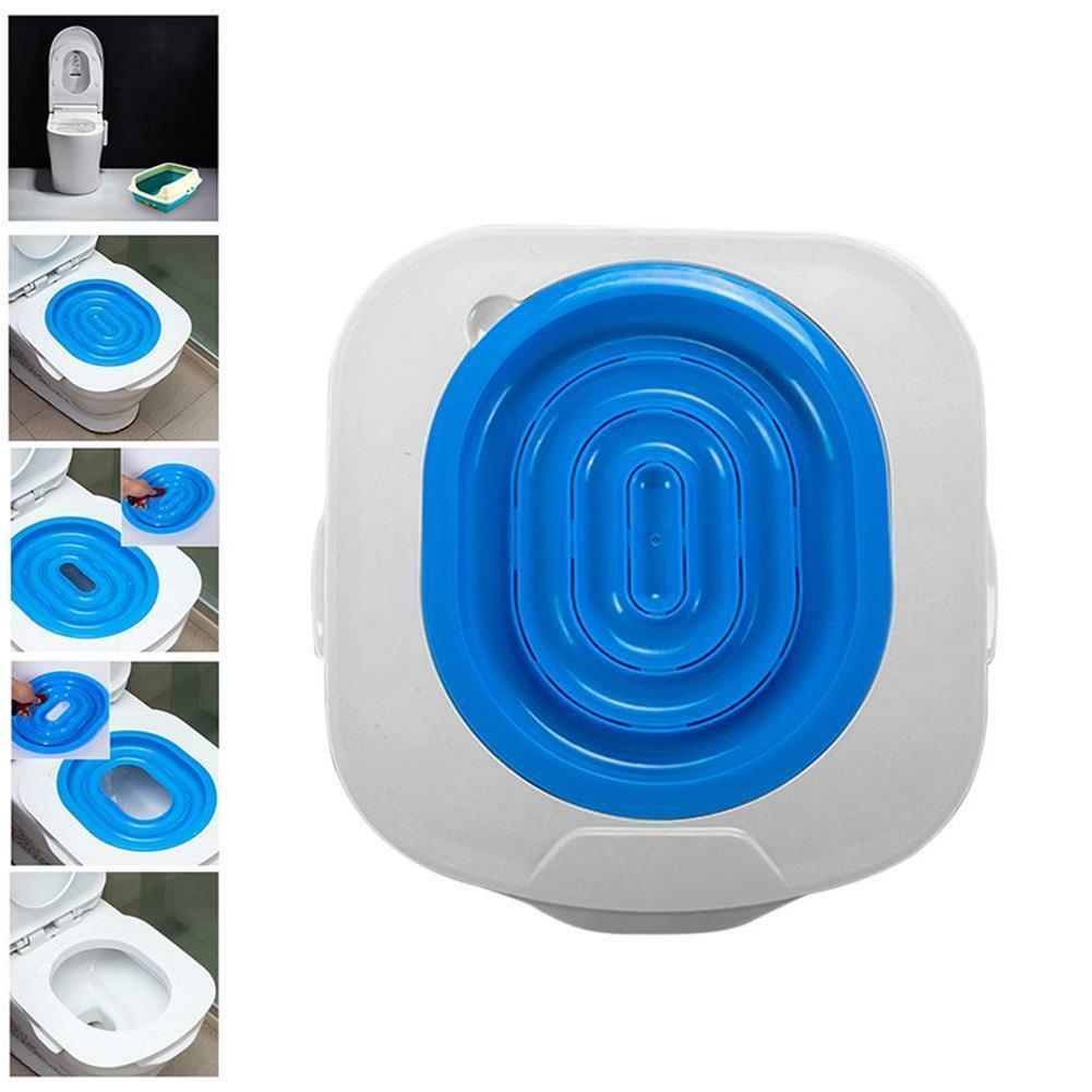 plastic cat toilet training kit litter tray