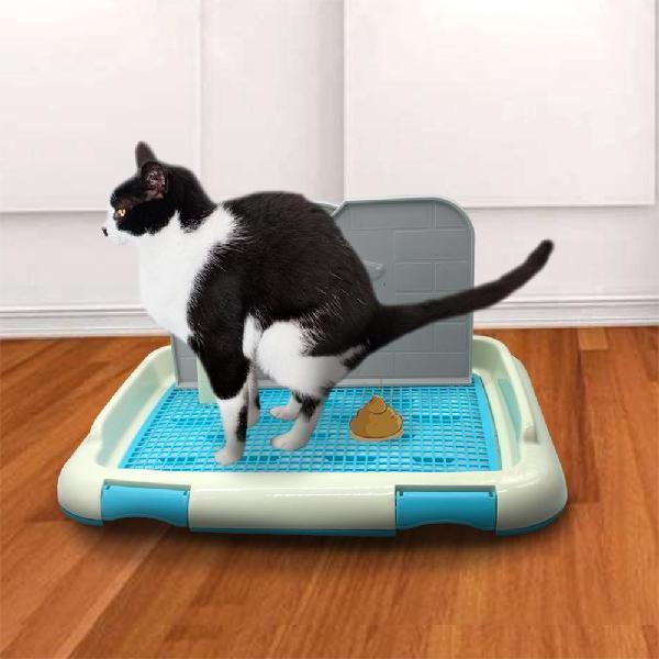 SaiDeng Portable Dog Cat Toilet Column Training Toilet