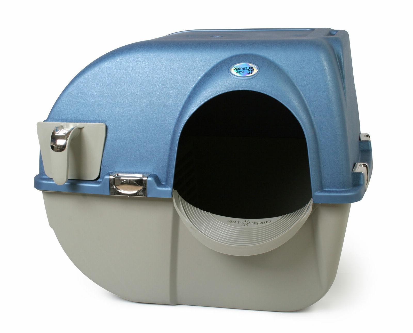 premium roll n clean selfcleaning cat litter