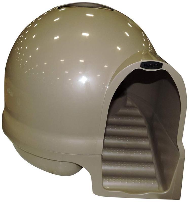 ptmt clean step litter dome titanium free