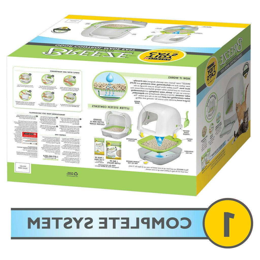 Purina Tidy Hooded Litter System SIZE HOODED