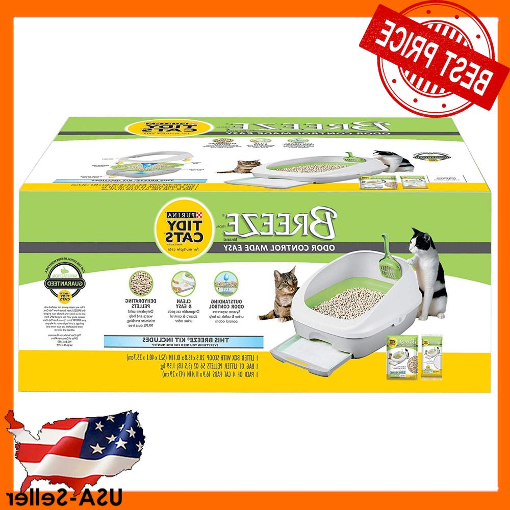 purina tidy cat litter box system open