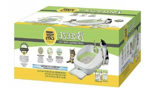 purina tidy litter pads system for multiple