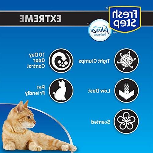 Fresh Litter with Power of Febreze, Cat Litter,