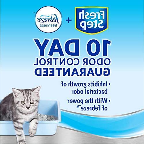 Fresh Litter with of Febreze, Cat Litter,