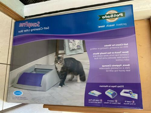 scoopfree self cleaning litter