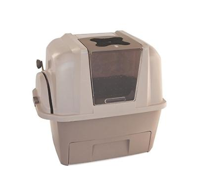 self cleaning cat litter box automatic pan
