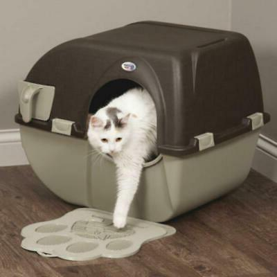 self cleaning improved automatic cat litter box