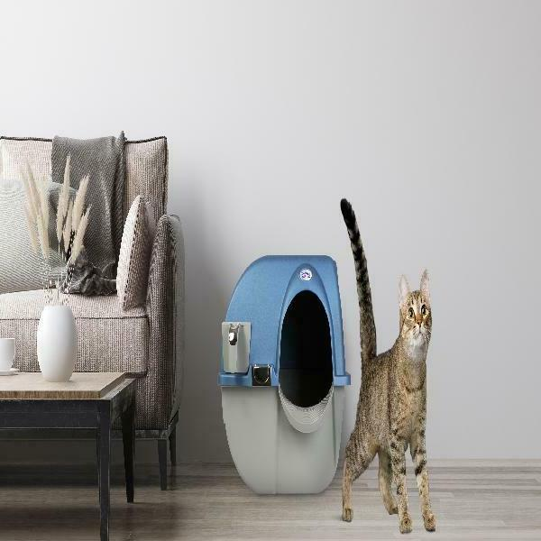 omega paw litter box LARGE clean covered L
