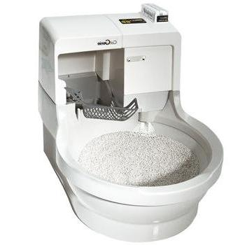 CatGenie Flushing Cat