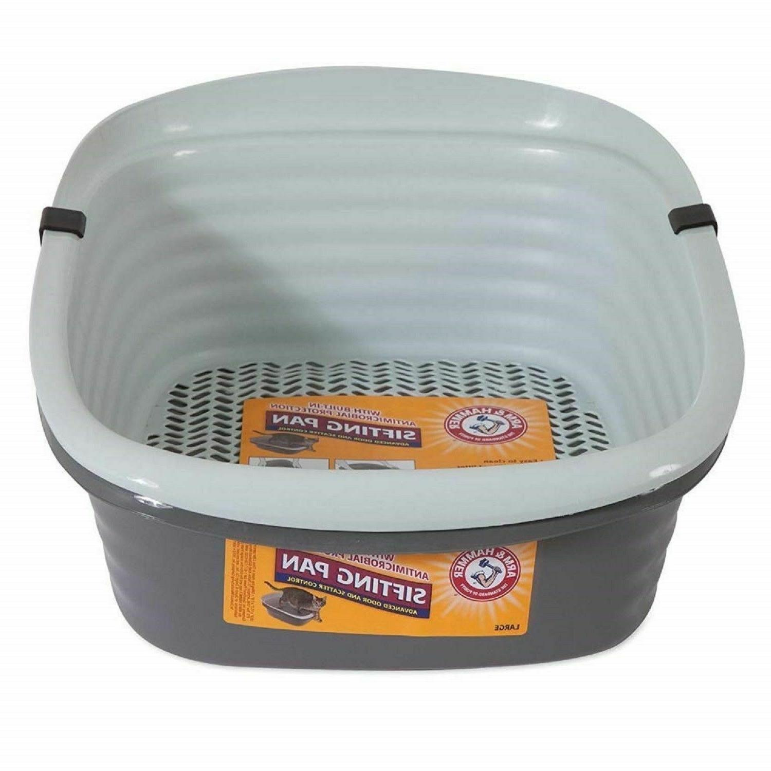 SIFTING LITTER Large Cleaning Kitty Tray