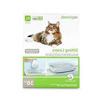 sifting cat litter pan liners 32 l