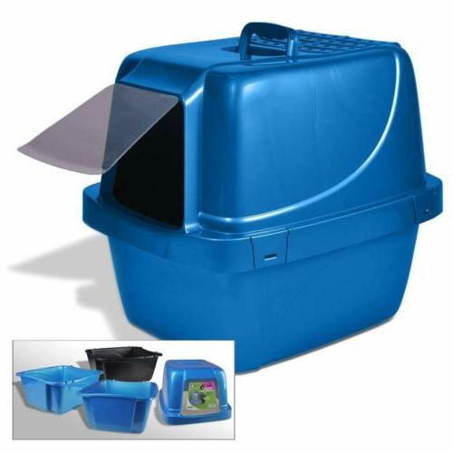 sifting enclosed cat pan