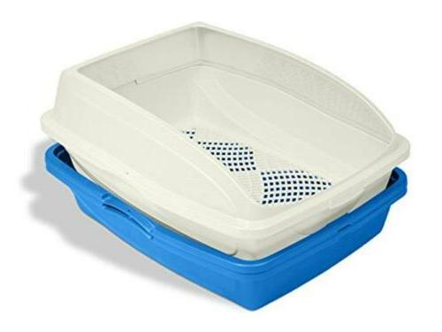 Van Ness Sifting Pan Cat Kitty Litter Box with Frame Clean O