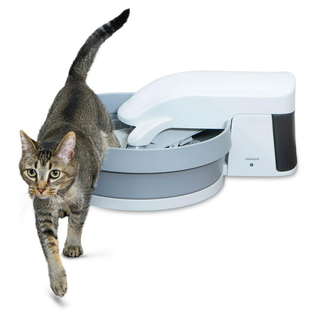 simply clean automatic litter box self cleaning