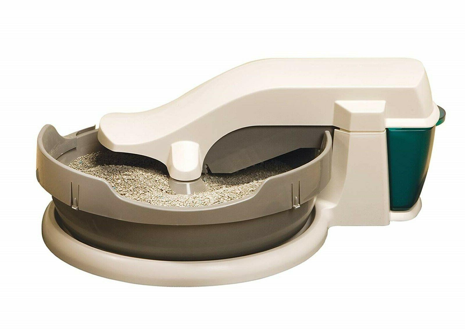 Automatic Self Cleaning Cat Litter Box Clumping Cleaning Sim