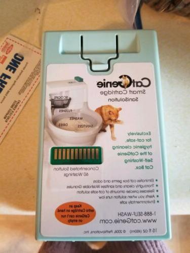 smart cartridge litter box sanisolution